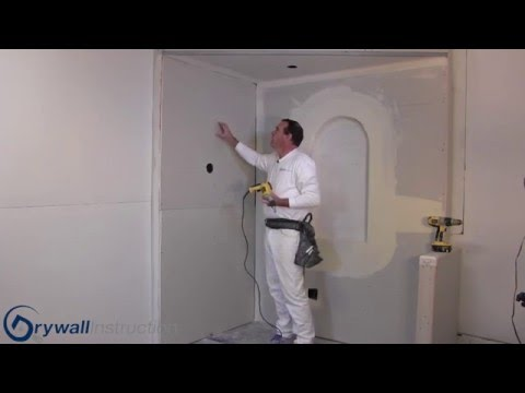 Drywall Fasteners - Nails vs Screws - Drywall Instruction