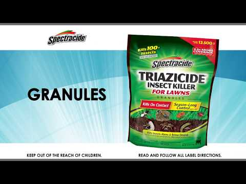 How to Use Spectracide® Triazicide® Insect Killer For Lawns Granules