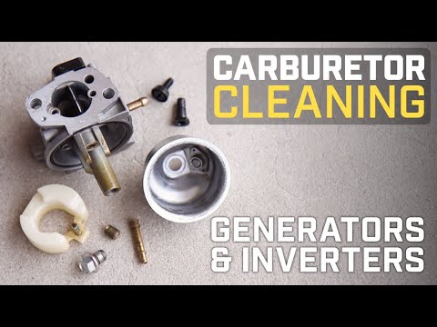 Champion Help Center: Cleaning the Carburetor in your Generator or Inverter