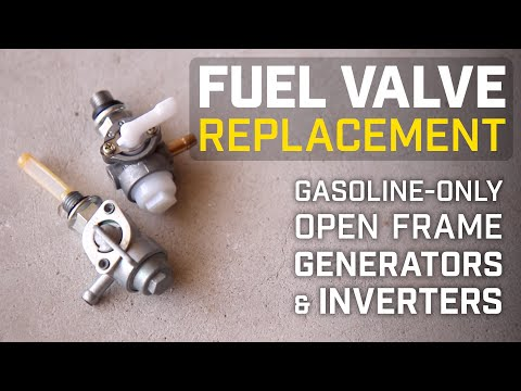 Champion Help Center: Fuel Valve Replacement