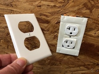insulation gaskets for electrical outlets