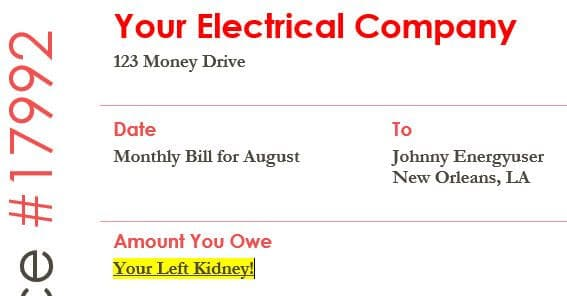 Why Is My Electric Bill So High? Here's The Answer!