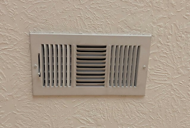 Open vents to ensure that your central air and heat system is running efficiently.