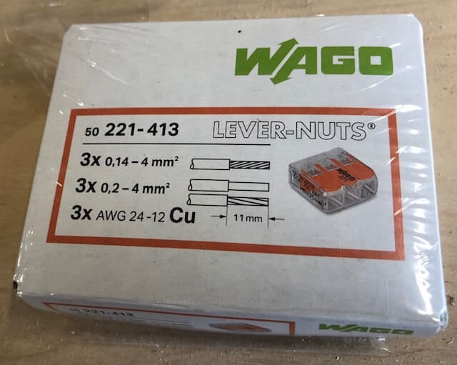 wago lever nuts