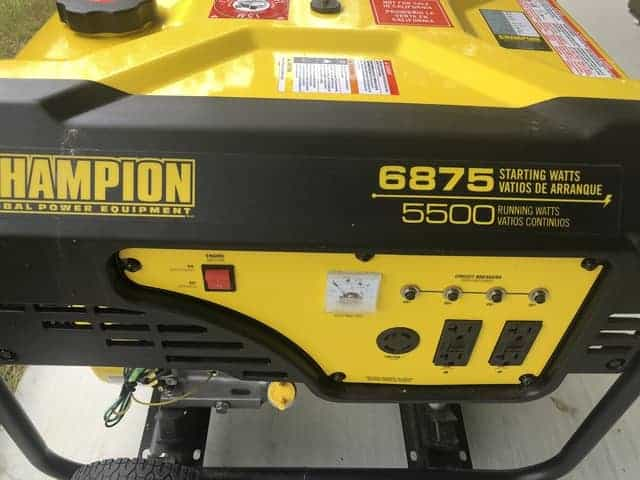 Why does a generator die when it's under load?