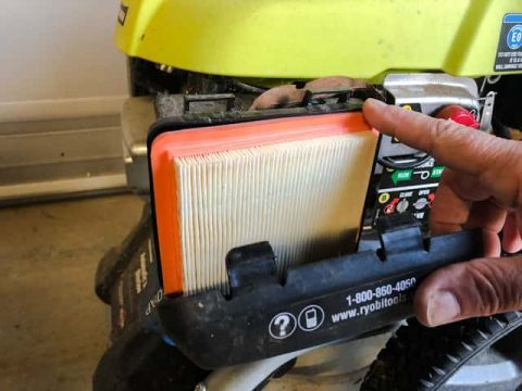 A dirty air filter will cause a pressure washer to shut down due to starving for air.