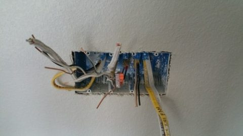 Mounting your electrical box flush with drywall.