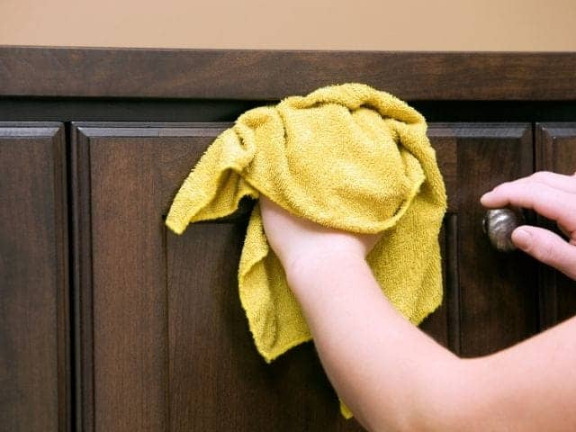 Are stained cabinets outdated?