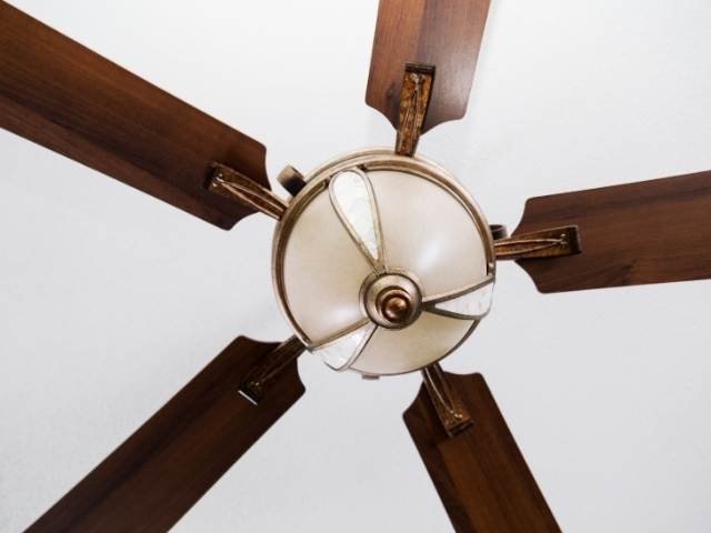 Choose the right size ceiling fan;