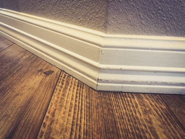 When to install baseboards - before vs after flooring.