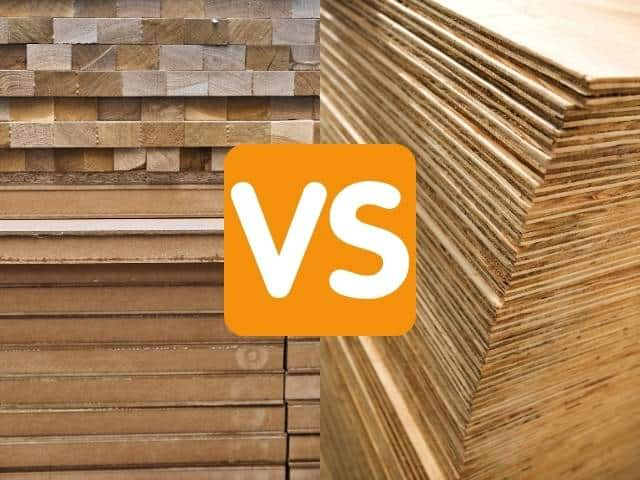 block board vs plywood - pros and cons of each.