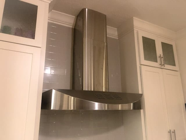What size wire gauge for a range hood?