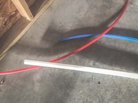 PEX tubing - Which type to bury?