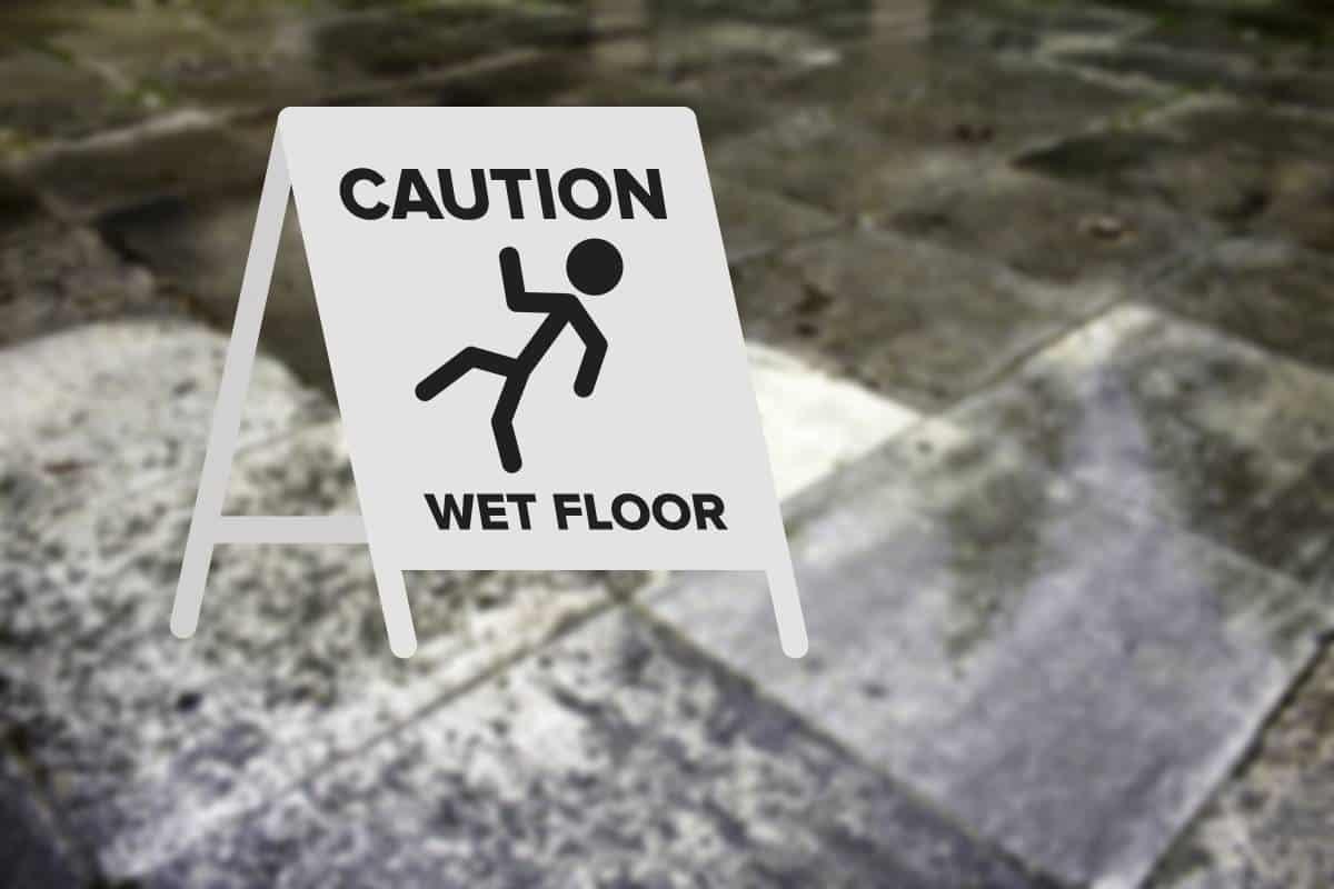 How to fix slippery tile floors.